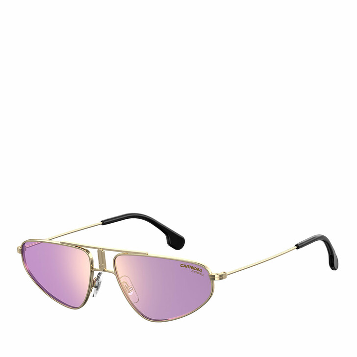 Sonnenbrille, Carrera, CARRERA 1021/S Gold Violet