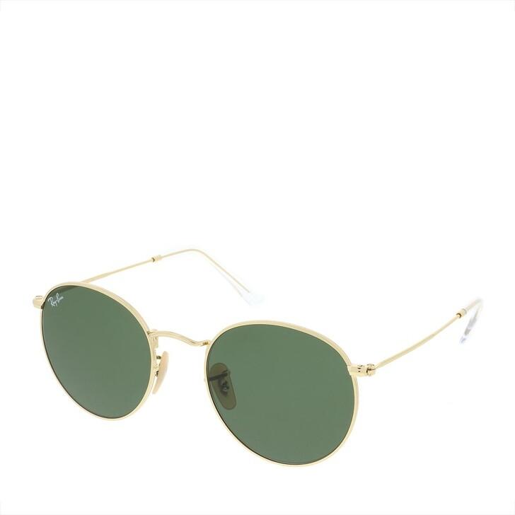 Sonnenbrille, Ray-Ban, Round Metal Arista
