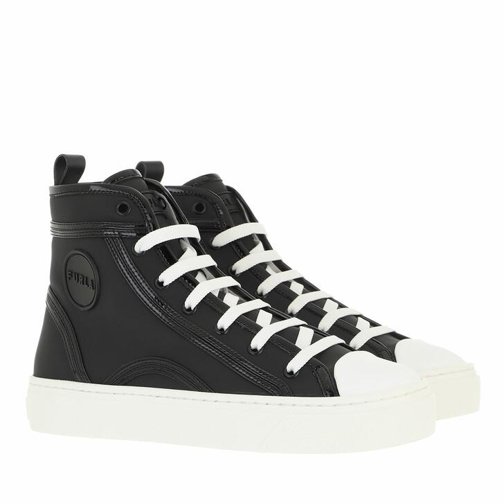 shoes, Furla, Furla Binding High Top Sneaker T.20  Nero