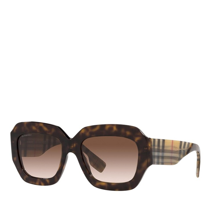 Sonnenbrille, Burberry, 0BE4334 DARK HAVANA