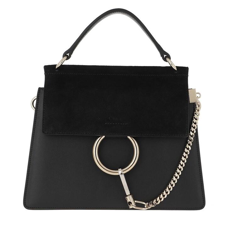 Handtasche, Chloé, Faye Shoulder Bag Black