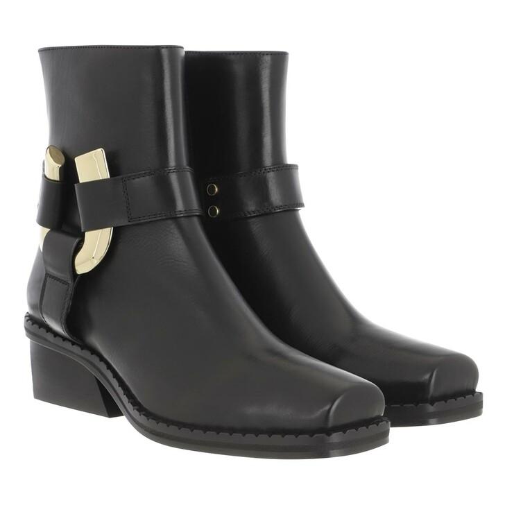 Schuh, Proenza Schouler, Heeled Boot Leather Nero