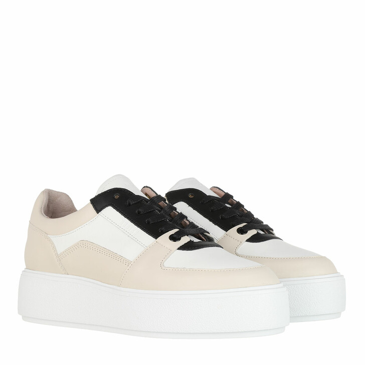 Schuh, Nubikk, Elise Bloom Sneaker Leather White Multi Color