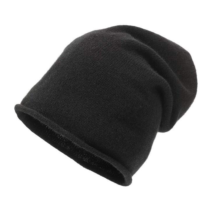 Mütze, Embraced Studios, Wool-Cashmere Beanie Black