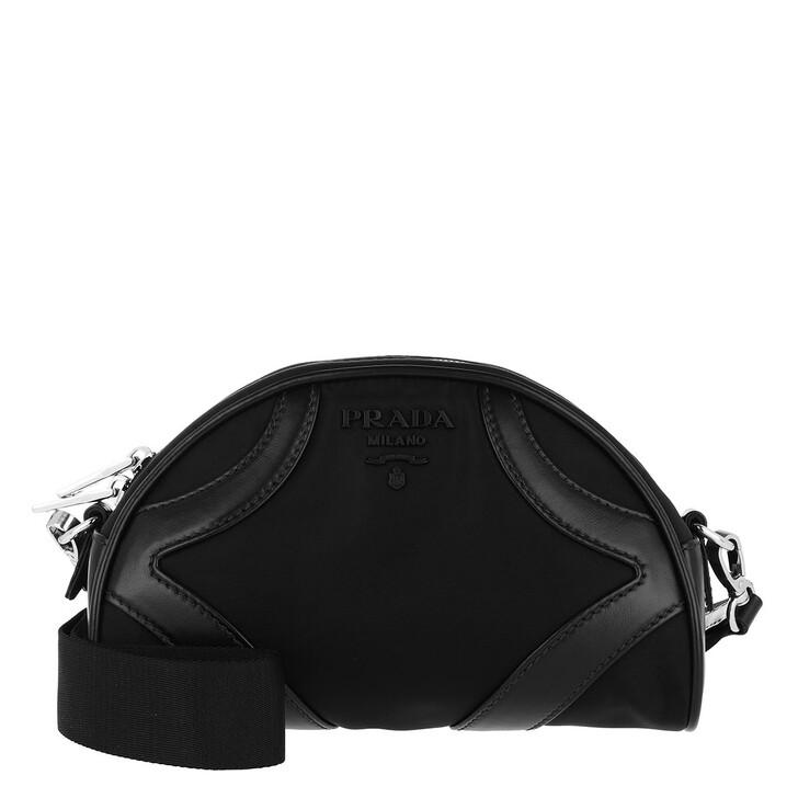 Handtasche, Prada, Crossbody Bag Nylon Black