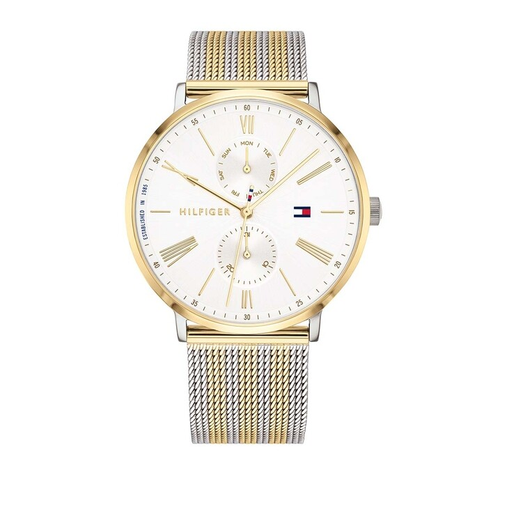 Uhr, Tommy Hilfiger, Multifunctional Watch Dressed Up 1782074 Silver/Gold