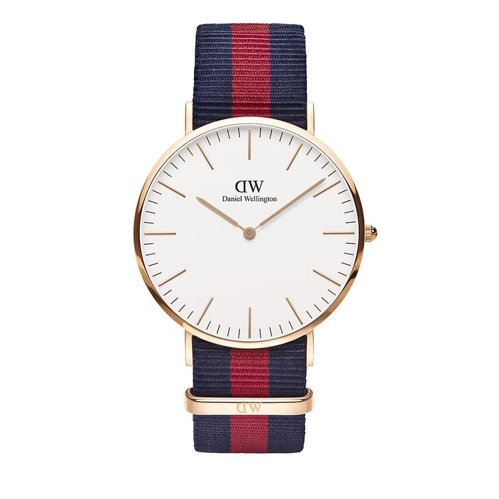 Uhr, Daniel Wellington, Classic Oxford 40 mm Blue Red