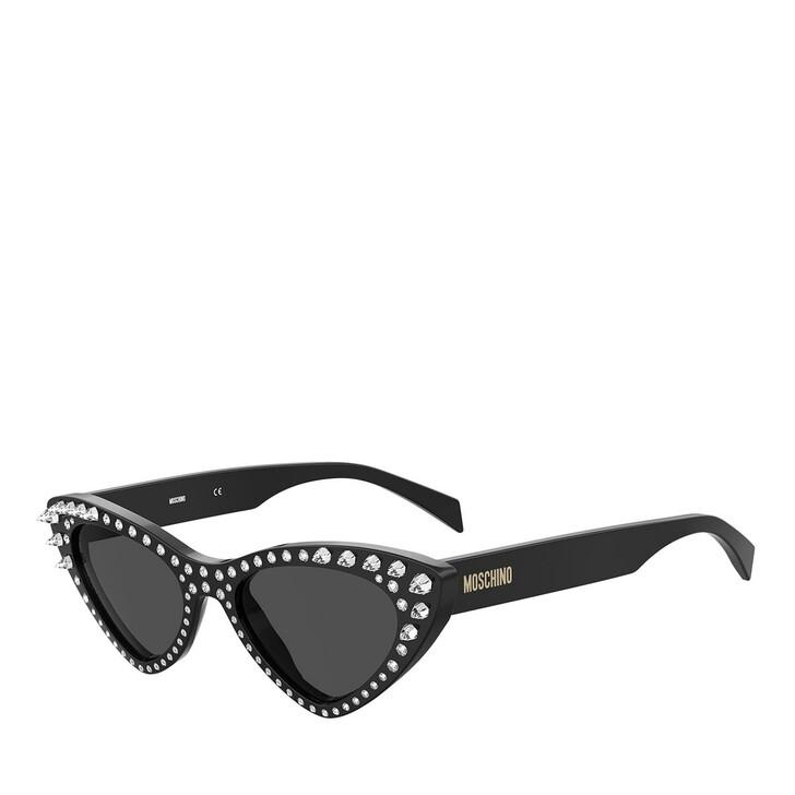 sunglasses, Moschino, MOS006/S/STR Black