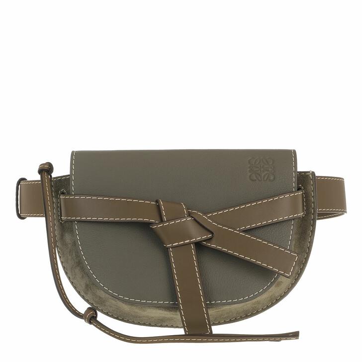 belt_bags, Loewe, Large Gate Belt Bag Khaki Green
