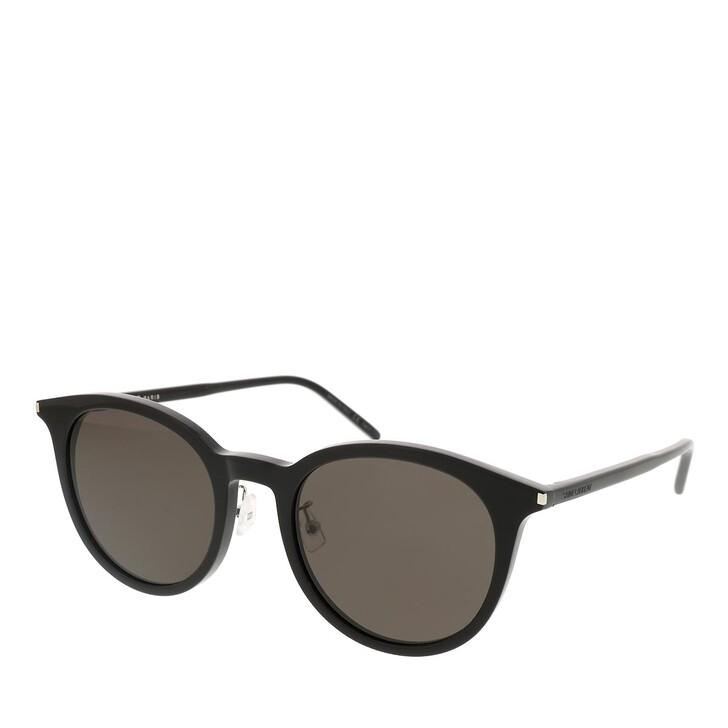 sunglasses, Saint Laurent, SL 488/K-001 54 Sunglass Unisex Acetate Black-Black-Black