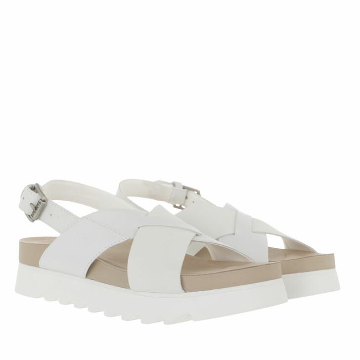 Schuh, Timberland, Santa Monica Sunrise Crossband Sandals Bright White