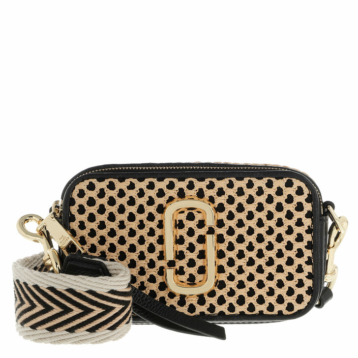 bags, Marc Jacobs, The Snapshot Cane Textured Leather Black