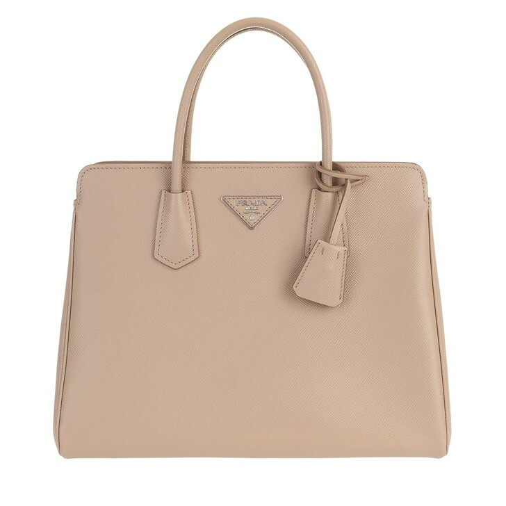 Handtasche, Prada, Shoulder Bag Leather Rose