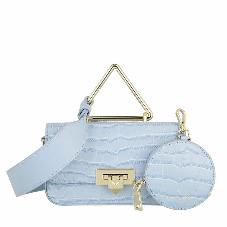 bags, WEAT, Toast Multi Croco Sky Light Blue