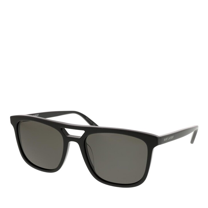 sunglasses, Saint Laurent, SL 455-001 56 Sunglass MAN ACETATE BLACK