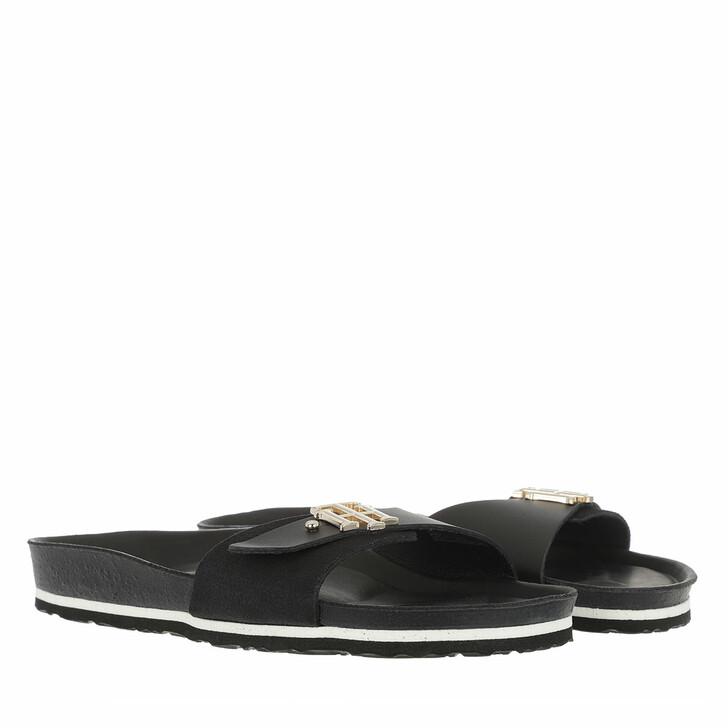 Schuh, Tommy Hilfiger, TH Molded Footbed Slipper Black