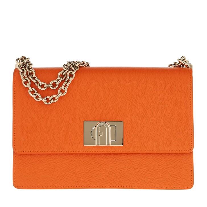 Handtasche, Furla, 1927 Small Crossbody 24 Orange