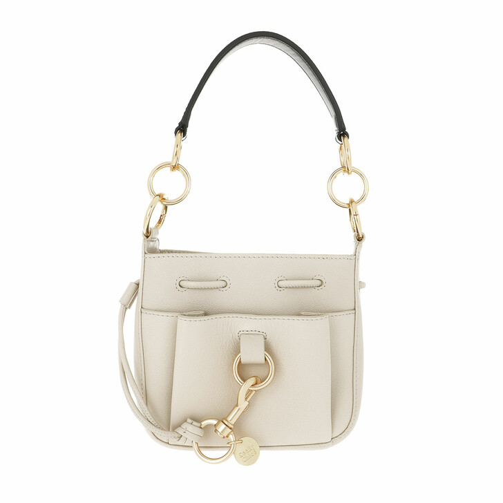 Handtasche, See By Chloé, Tony Small Shoulder Bag Cement Beige