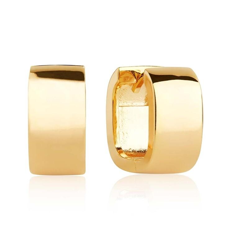 Ohrring, Sif Jakobs Jewellery, Matera Pianura Earrings 18K Gold Plated