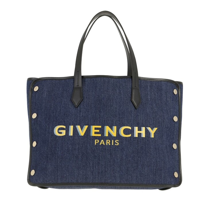 Handtasche, Givenchy, Medium Bond Shopper Denim Blue