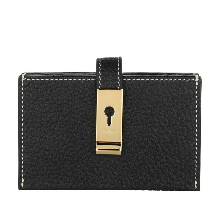 Geldbörse, Bally, Alil Card Holder Black
