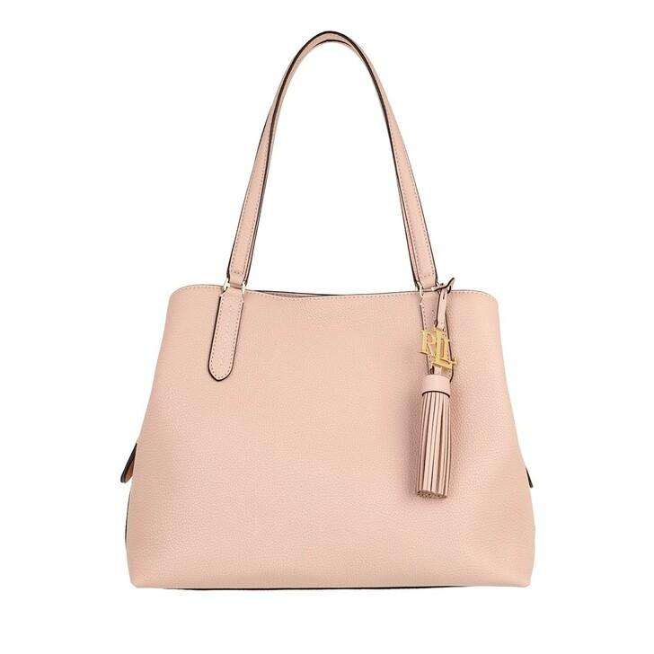 bags, Lauren Ralph Lauren, Quinn 34 Shoulder Bag Large Ballet Pink