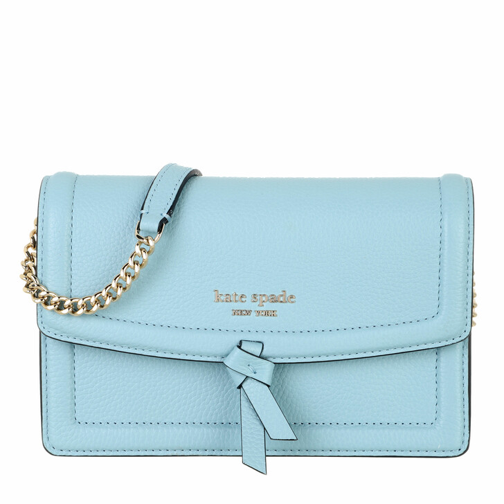 bags, Kate Spade New York, Flap Xbody  Teacup Blue
