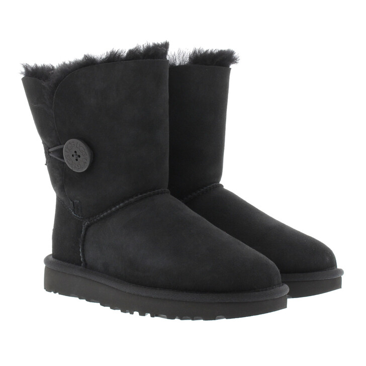 Schuh, UGG, W Bailey Button II Black