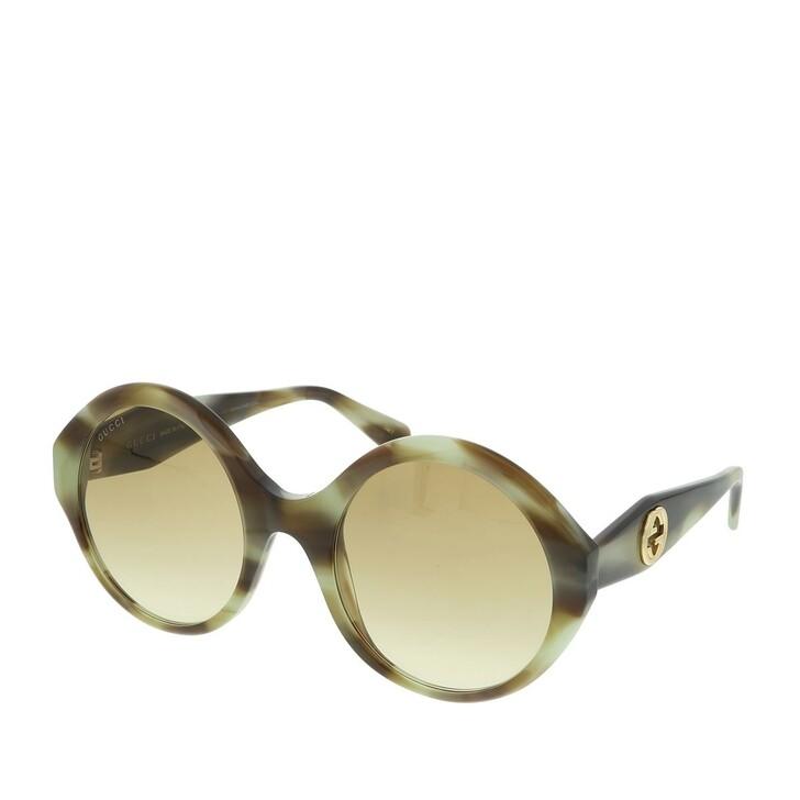 sunglasses, Gucci, GG0797S-003 54 Sunglass WOMAN ACETATE Havana