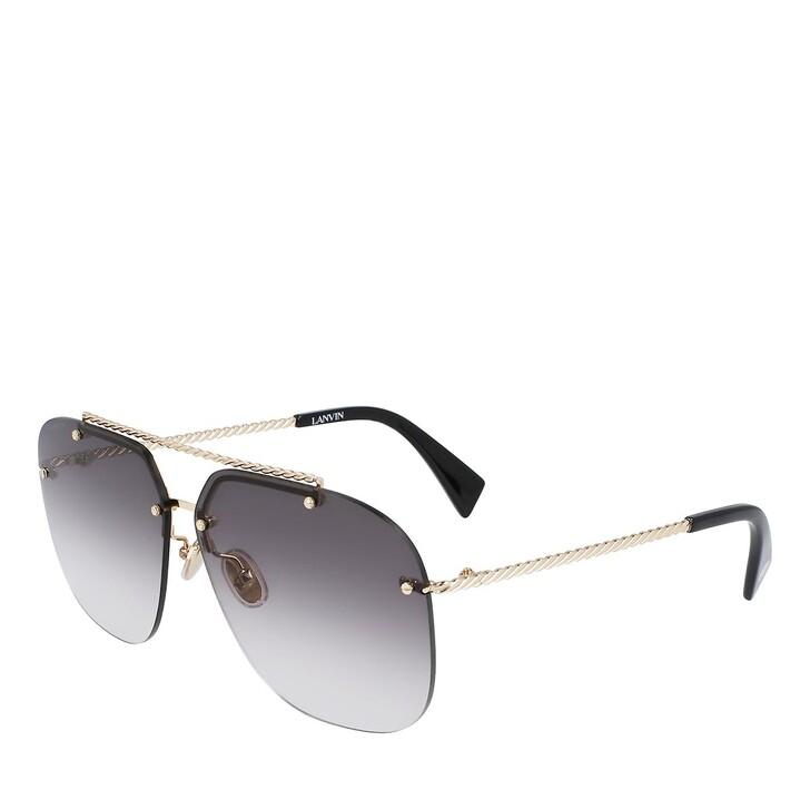 sunglasses, Lanvin, LNV108S GOLD/GRADIENT GREY