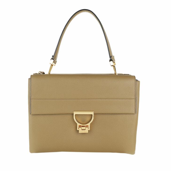 Handtasche, Coccinelle, Arlettis Satchel Bag Moss Green