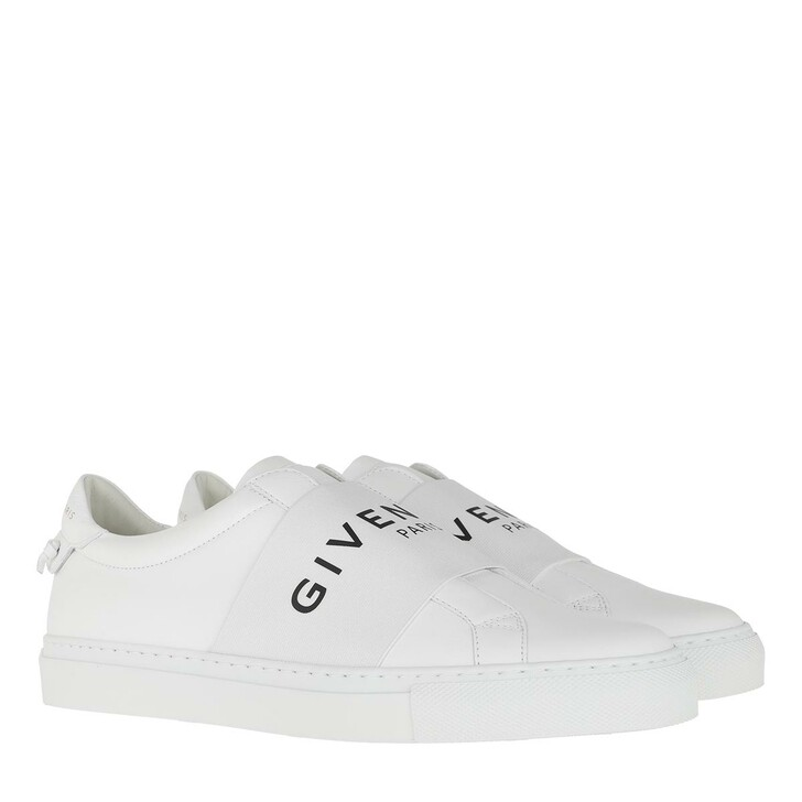 Schuh, Givenchy, Paris Webbing Sneaker Leather White