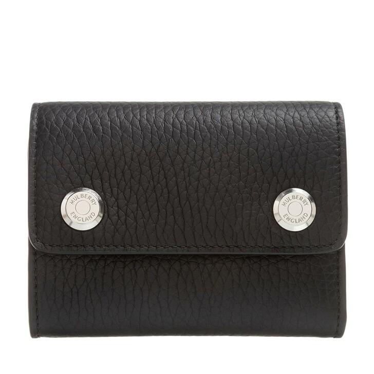 Geldbörse, Mulberry, Small Wallet On Chain Black