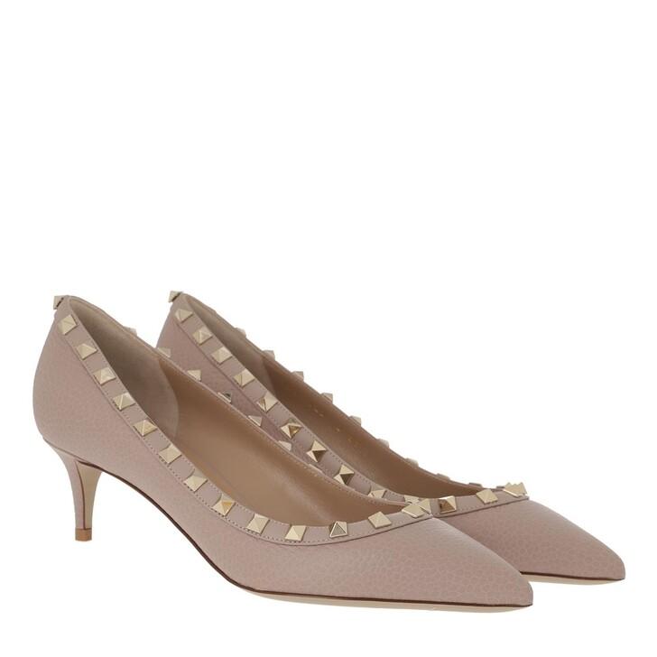Schuh, Valentino Garavani, Rockstud Pump 80 Poudre