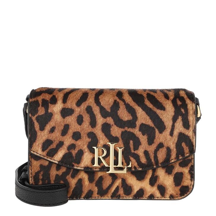 Handtasche, Lauren Ralph Lauren, Madison Crossbody Small Leopard