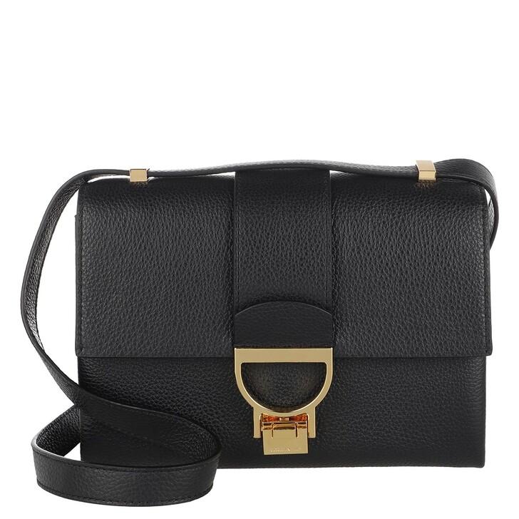 Handtasche, Coccinelle, Handbag Grainy Leather Noir