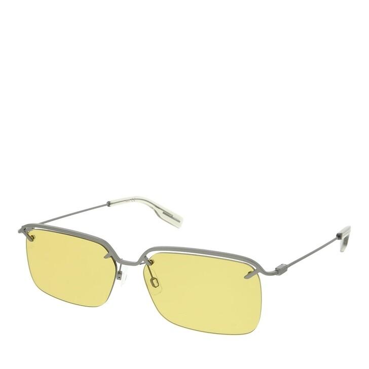 Sonnenbrille, McQ, MQ0313S-003 58 Sunglass MAN METAL RUTHENIUM