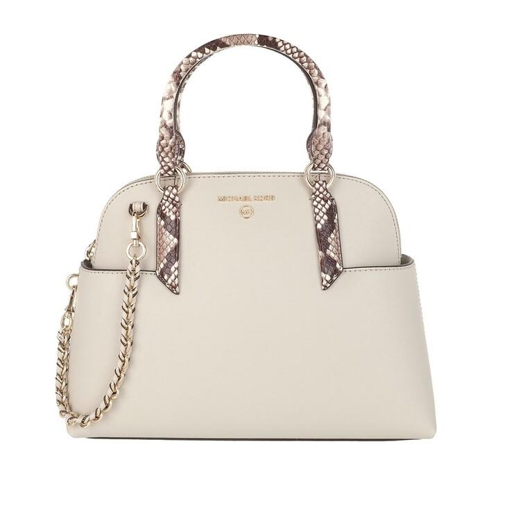 Handtasche, MICHAEL Michael Kors, Hudson Small Dome Satchel Bag Light Sand