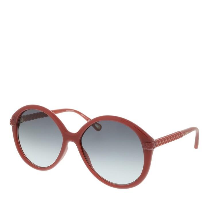 Sonnenbrille, Chloé, Sunglass WOMAN BIO INJECT ORANGE-ORANGE-GREY