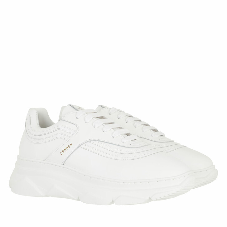 shoes, Copenhagen, CPH206 Sneaker Calf Leather White