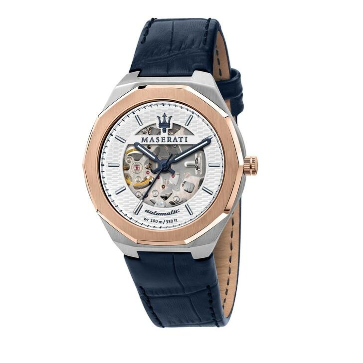 Uhr, Maserati, Watch Stile 42 mm Blue/White