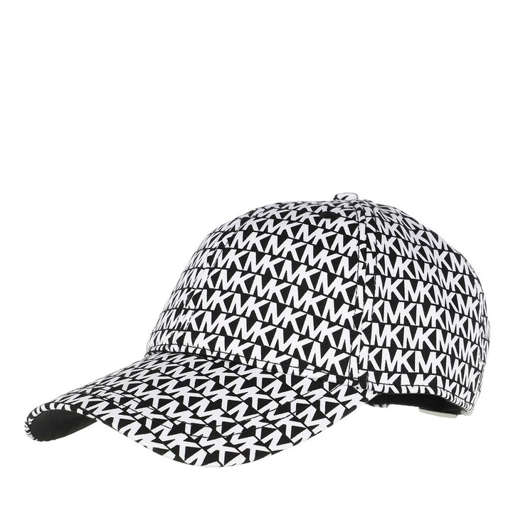 Mütze, MICHAEL Michael Kors, Mk Logo Prnt  Black/White