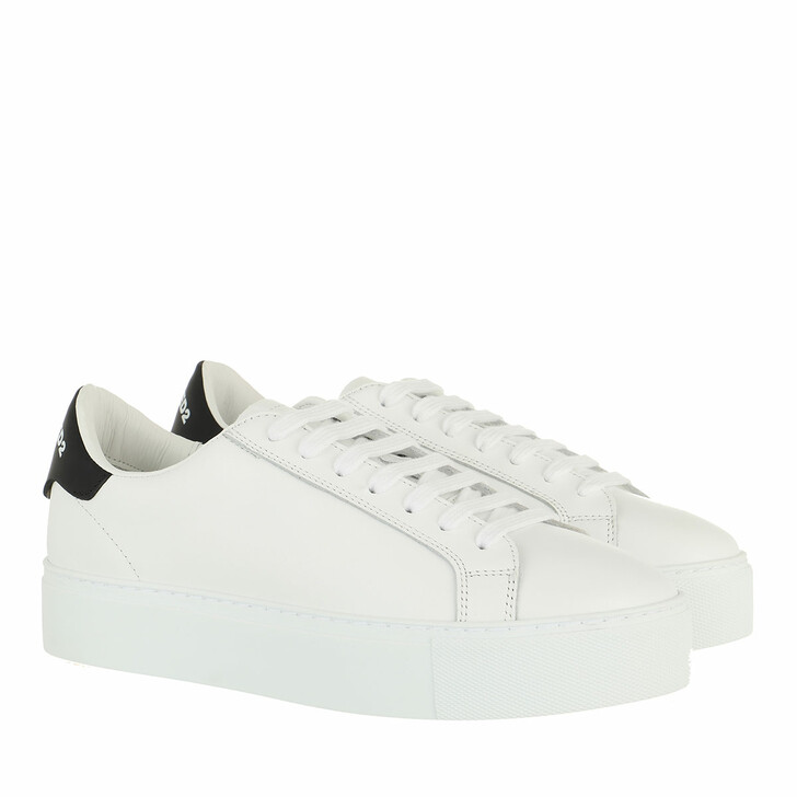 shoes, Dsquared2, Icon Logo Sneakers White/Black