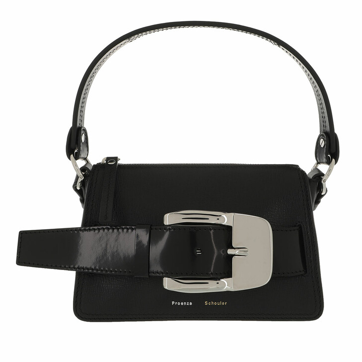 Handtasche, Proenza Schouler, Small Buckle Zip Bag Black