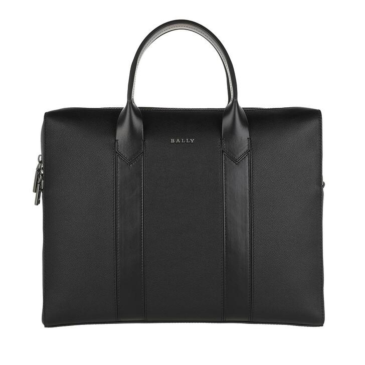 Handtasche, Bally, Elter Business Bag Black