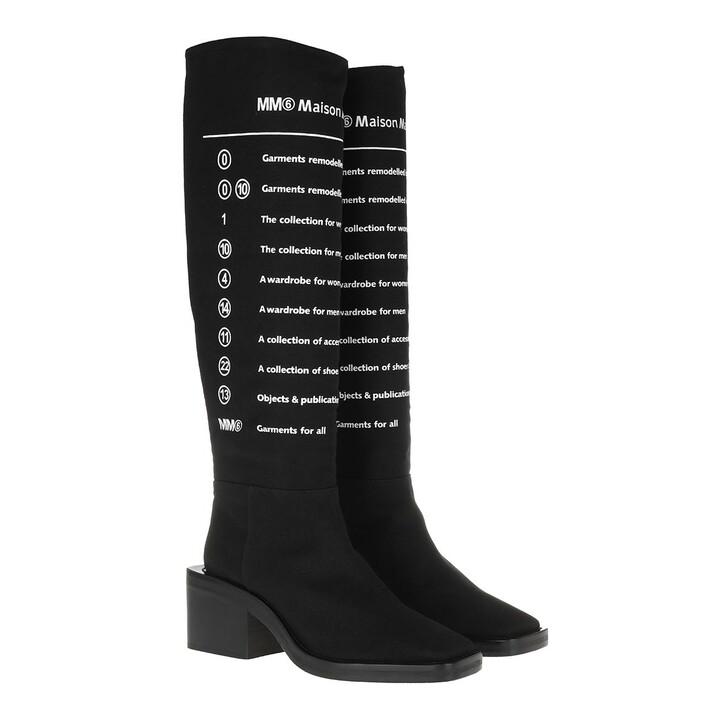 Schuh, MM6 Maison Margiela, Boot Black White