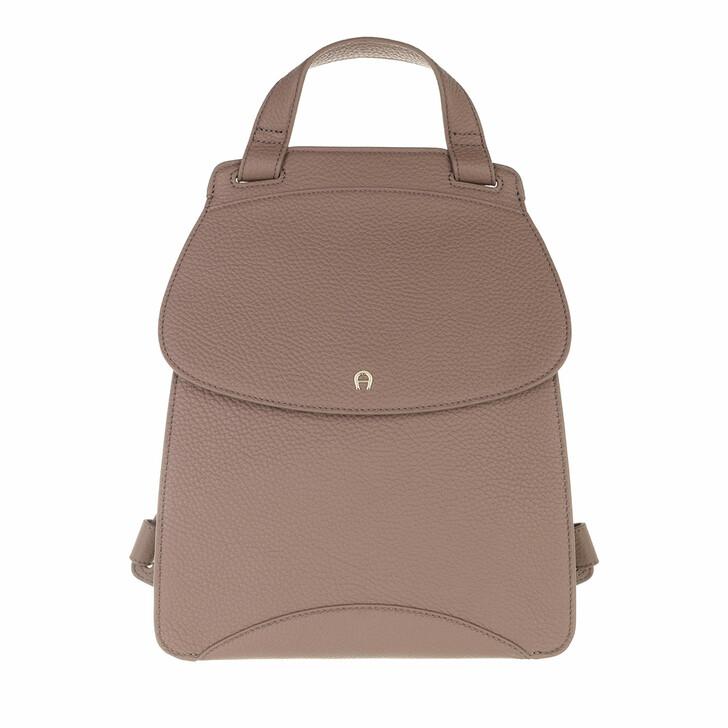 bags, AIGNER, Selma Backpack Mushroom Brown