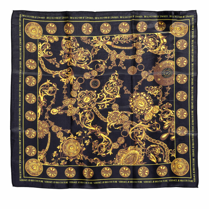 scarves, Versace Jeans Couture, Scarf Black/Gold
