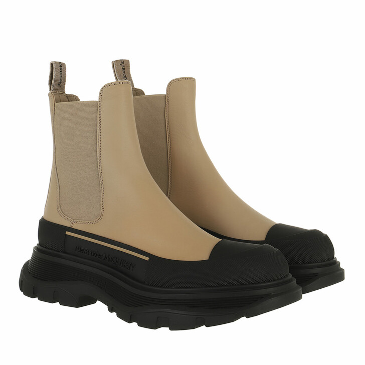 shoes, Alexander McQueen, Chunky Sole Boots Rose/Black