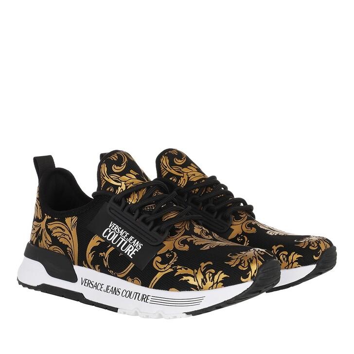 Schuh, Versace Jeans Couture, Linea Fondo Aerodynamic Sneaker Black Gold